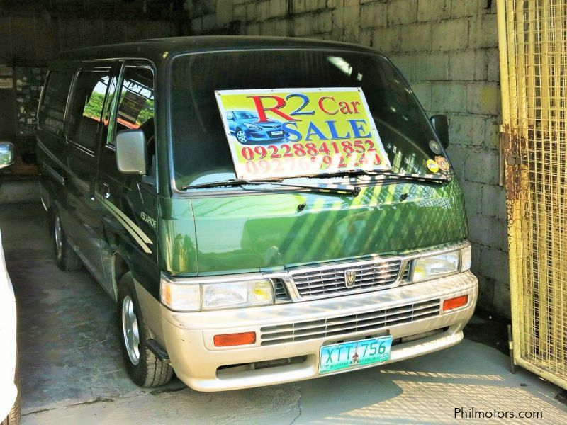 Used Nissan Urvan Escapade for sale in Cavite