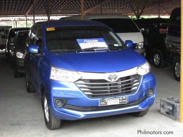 Used Toyota Avanza E for sale in Pasig City
