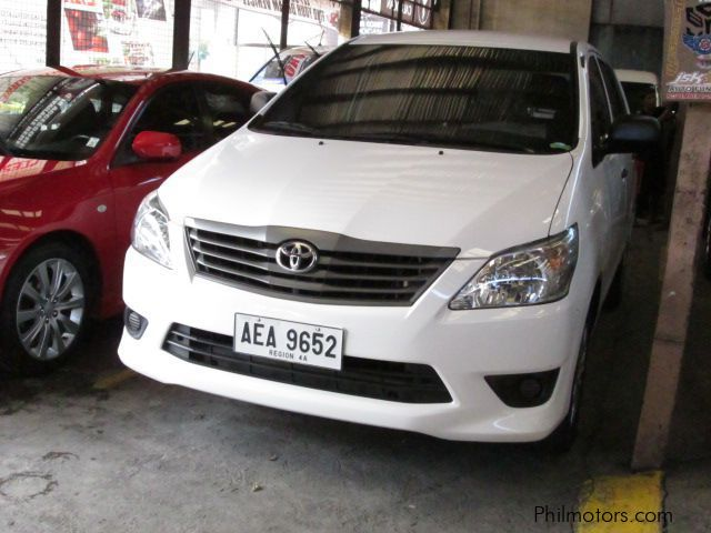 Pre-owned Toyota Innova J for sale in Quezon City