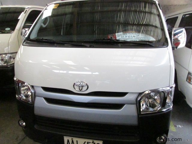 Pre-owned Toyota Hi ace commuter for sale in Quezon City