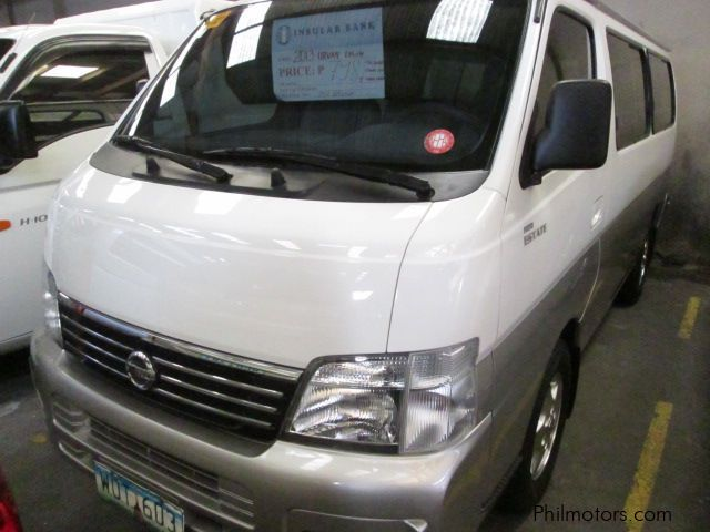 Pre-owned Nissan Urvan Estate for sale in Quezon City