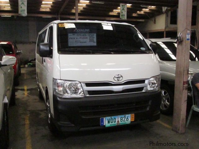 Pre-owned Toyota Hi ace commuter DID for sale in Quezon City