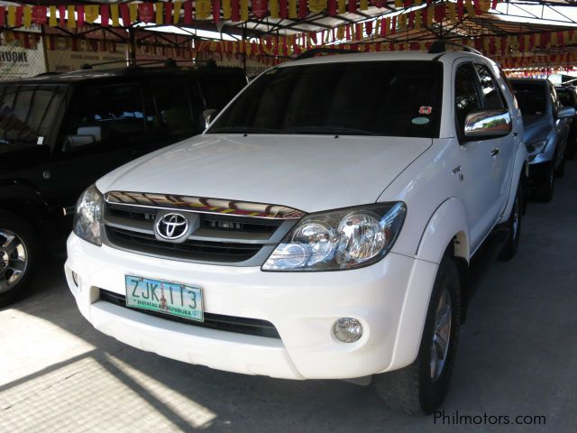 Used Toyota Fortuner G for sale in Las Pinas City