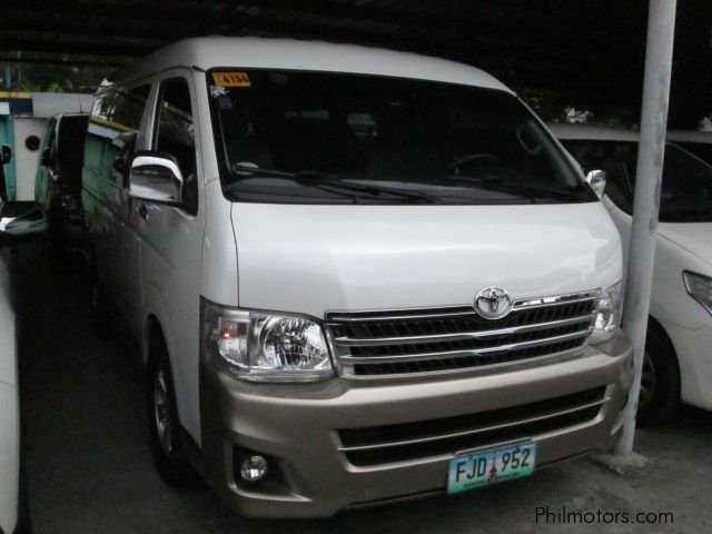Used Toyota Hi Ace Super Grandia in Pasay City