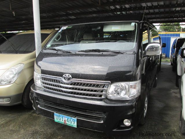 Used Toyota Hi-Ace Super Grandia in Pasay City