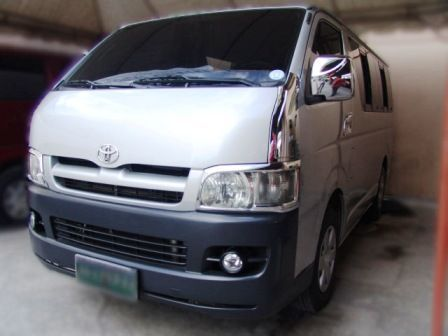 Used Toyota Hi Ace Commuter in Philippines