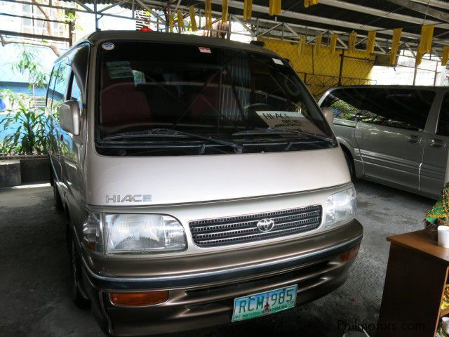 Used Toyota Hi-Ace for sale in Pasay City