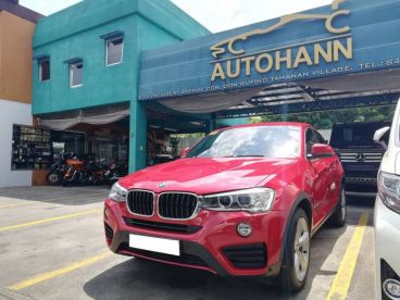 Pre-owned BMW X4 2.0L TWIN TURBOCHARGED for sale in