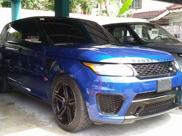 Pre-owned Range Rover Sport SVR 5.0L V8 Supercharged for sale in