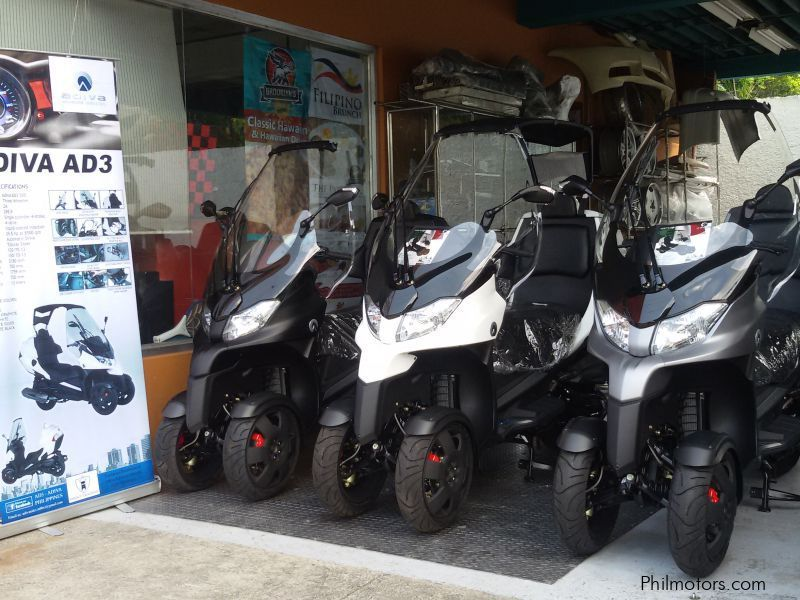 New Other ADIVA AD3 300 Motorcycle Scooter for sale in Paranaque City