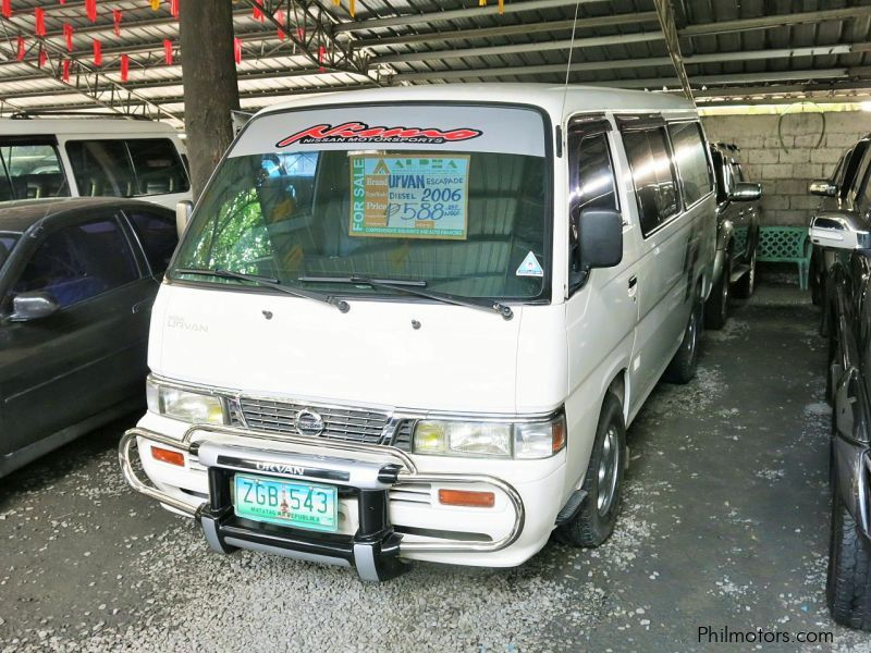 Used Nissan Urvan Escapade for sale in Pasay City