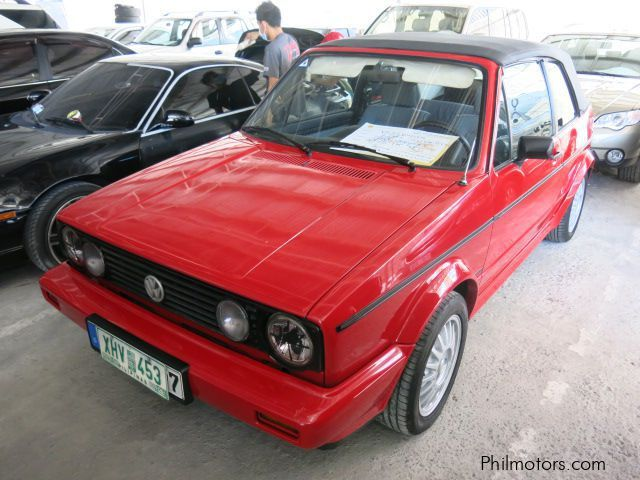 Used Volkswagen Golf Cabriolet for sale in Muntinlupa City