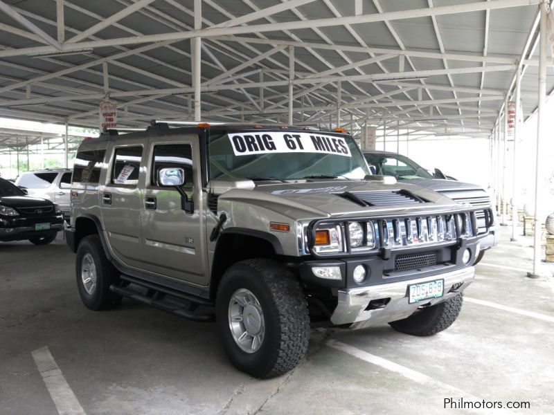 Used Hummer H2 for sale in Pasig City