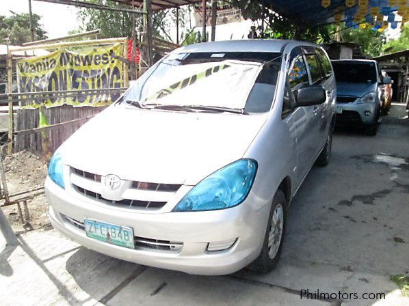 Used Toyota Innova j for sale in Cavite