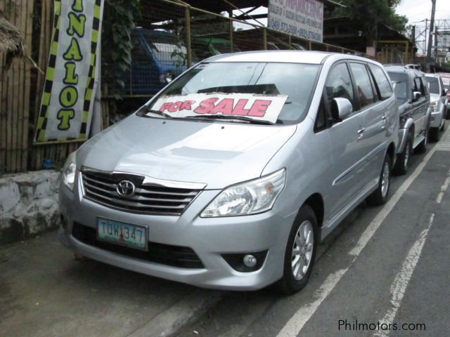Used Toyota Innova G for sale in Laguna