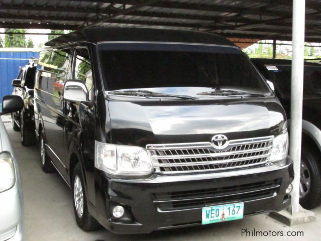 Used Toyota Hiace Super Grandia in Pasay City