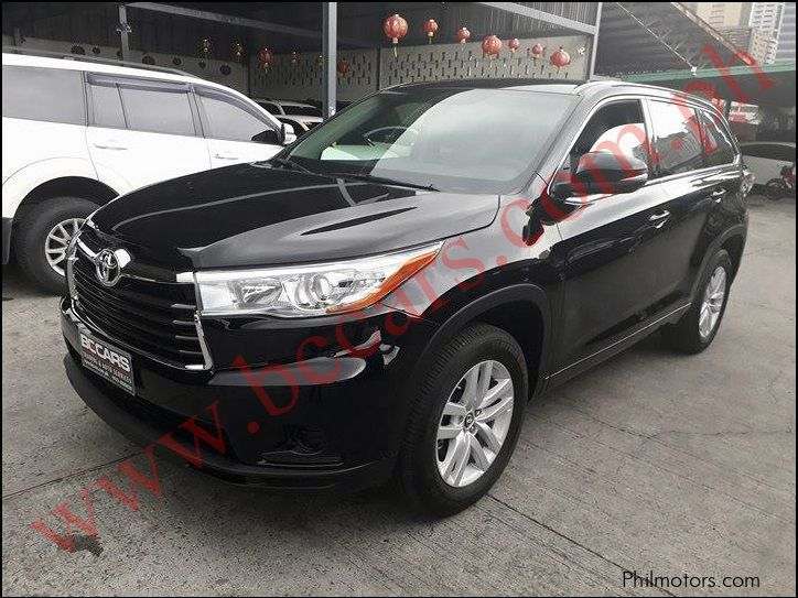 Pre-owned Toyota Highlander for sale in Pasig City