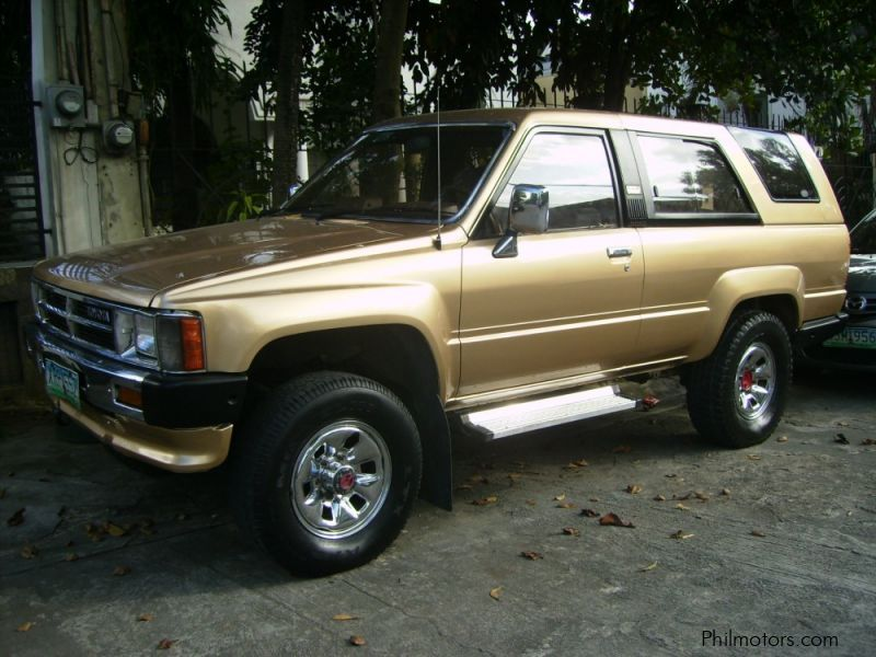 Used Toyota Hilux Surf 4x4 for sale in Quezon City
