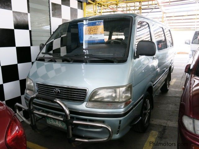 Used Toyota Hi-Ace Grandia for sale in Quezon City
