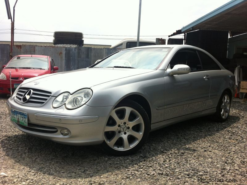 Used Mercedes-Benz clk320 in Subic Bay