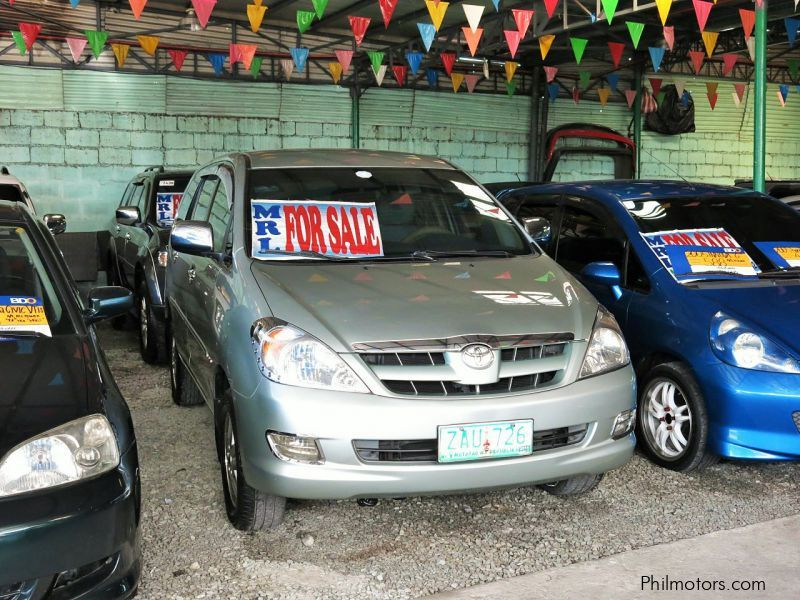 Used Toyota Innova G for sale in Quezon City