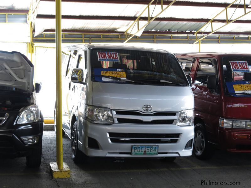 Used Toyota Hi-Ace Commuter for sale in Quezon City
