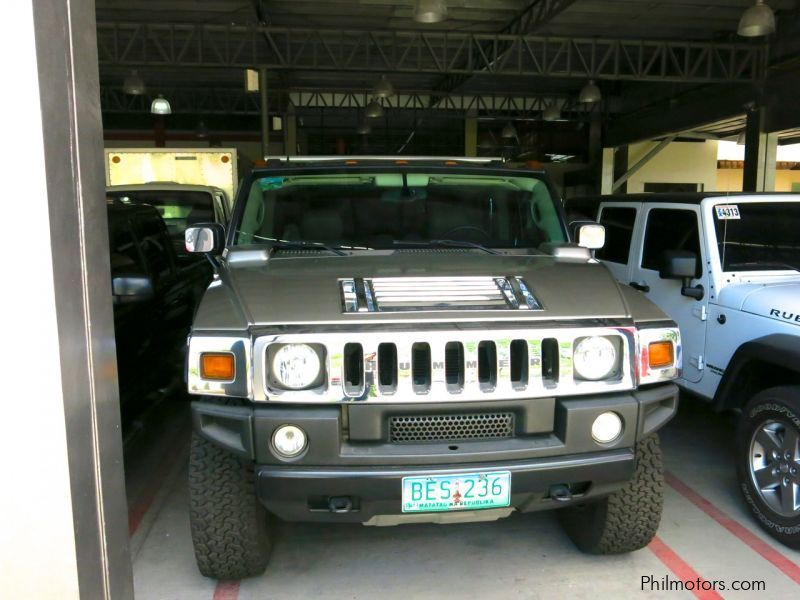 Used Hummer H2 for sale in Antipolo City