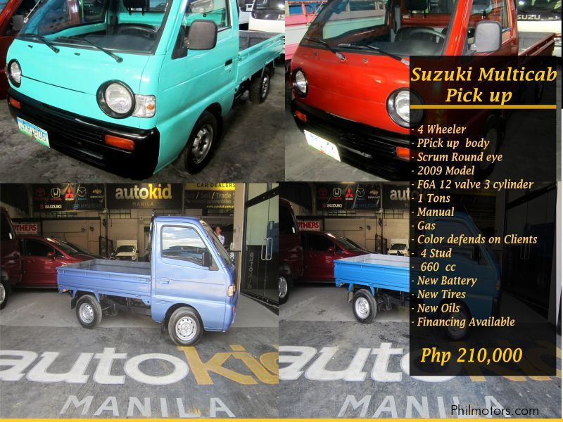 Used Suzuki Multicab Scrum  Pick up ROUND EYE for sale in Quezon City