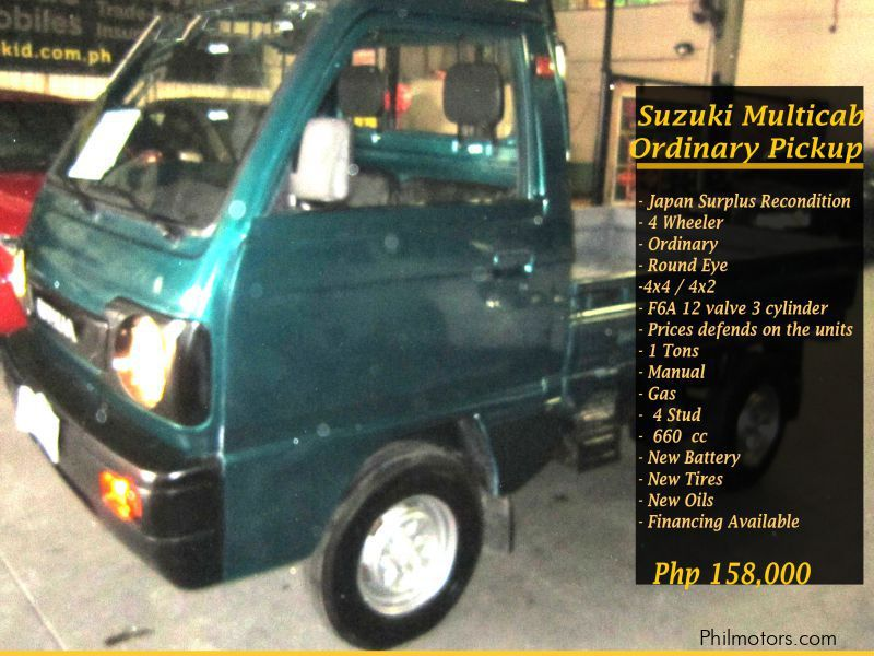 Used Suzuki Multicab Ordinary Pick up for sale in Quezon City