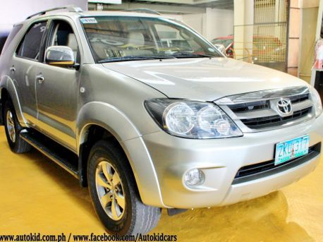 Used Toyota Fortuner 2.7 G Gas AT 650K ONLY!! for sale in Quezon City