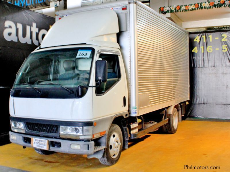 Used Mitsubishi Alum van 163 Japan truck 14ft 4M51 for sale in Quezon City