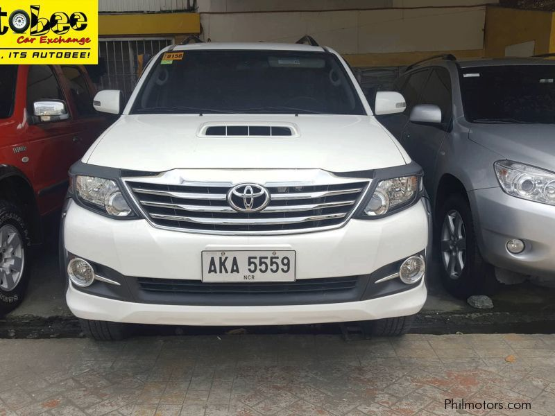 Used Toyota Fortuner in Quezon City