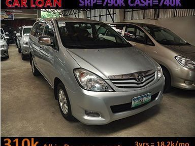 Pre-owned Toyota Innova for sale in La Union