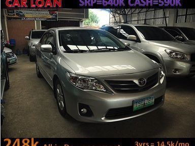 Pre-owned Toyota Altis  for sale in La Union