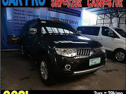 Pre-owned Mitsubishi Montero Sport Gls 4x2 for sale in La Union