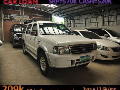 Pre-owned Ford Everest for sale in La Union