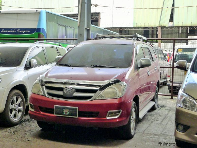 Used Toyota Innova J 2.0 M/T for sale in Quezon City