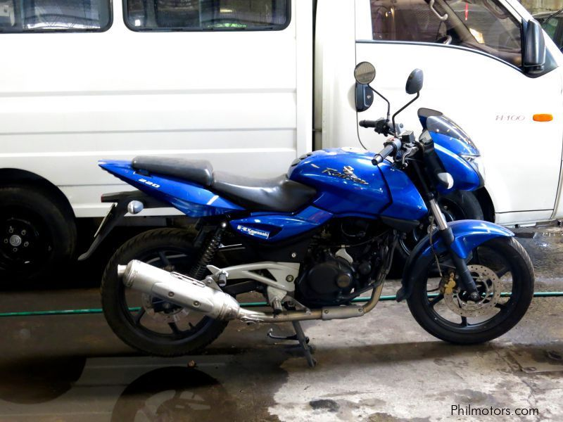 Used Kawasaki Rouser 220 for sale in Quezon City