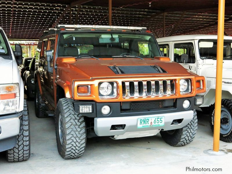 Used Hummer H2 Ltd. Ed. for sale in Pasig City