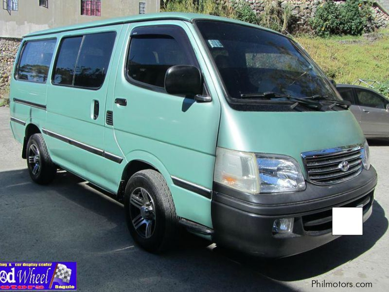 Used Toyota Hi-Ace Commuter GL look for sale in Benguet