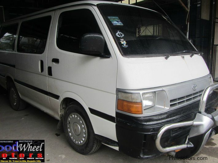 Used Toyota Hi ace Commuter van for sale in Benguet