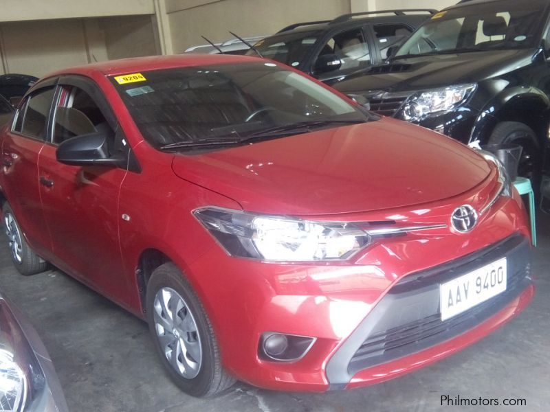 Used Toyota Toyota Vios J 1.3 manual gas 2015 for sale in Manila