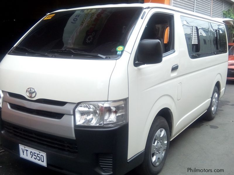 Used Toyota Toyota HIACE Commuter 2.5 manual diesel for sale in Manila