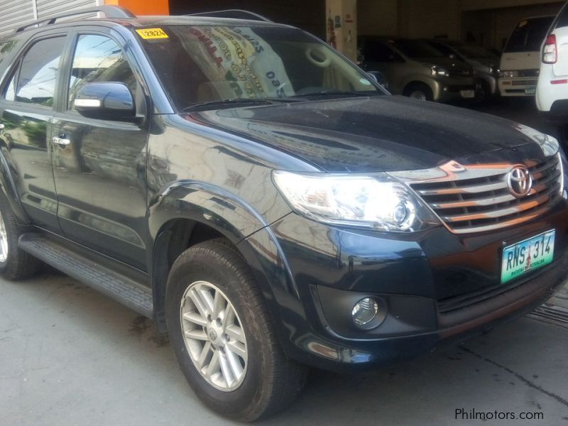 Used Toyota Toyota Fortuner G 2.7 gas automatic 2014 for sale in Manila
