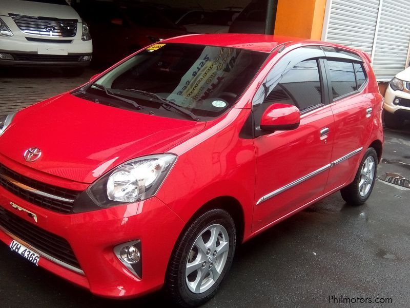 Used Toyota Toyota Wigo 1.0 G automatic gas 2016 for sale in Manila