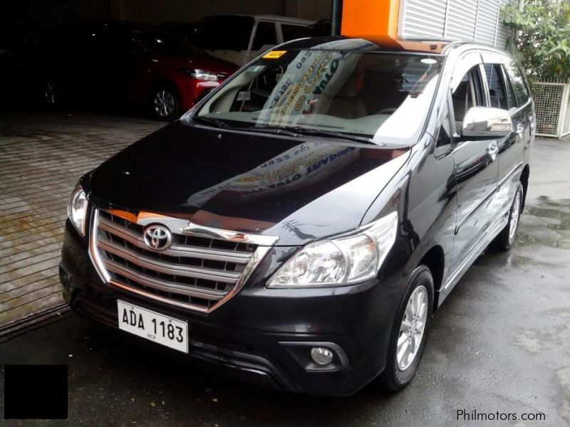 Used Toyota Toyota Innova 2.5 G automatic diesel 2015 for sale in Manila