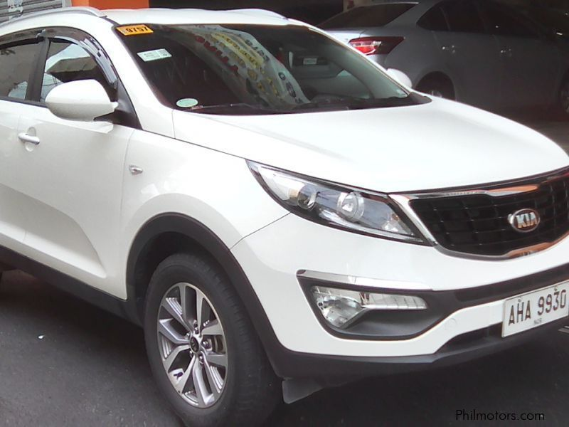 Used Toyota Kia Sportage LX 2.0 automatic gas 2015 for sale in Manila