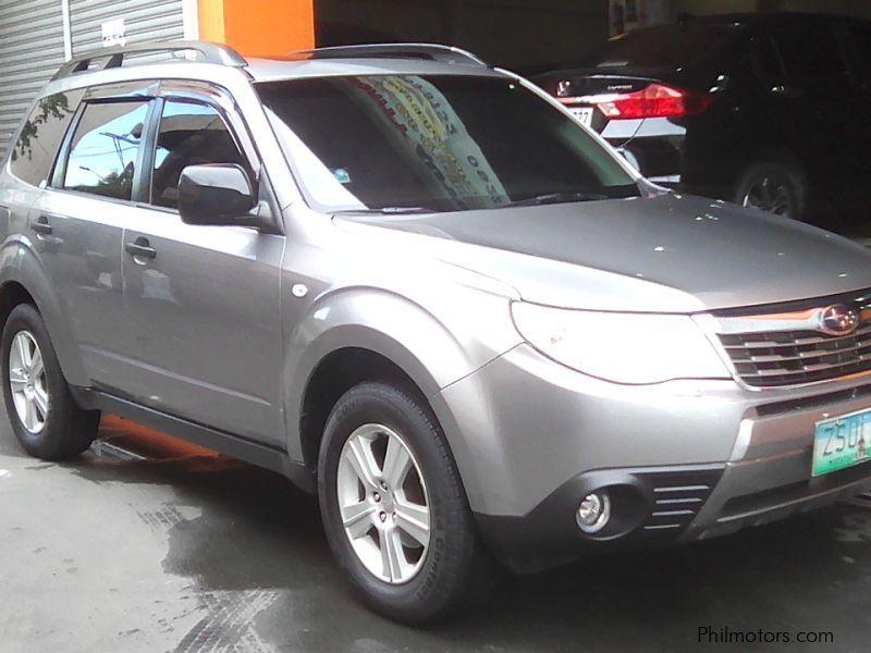 Used Subaru Subaru Forester 2.0 X automatic gas 2009 for sale in Manila