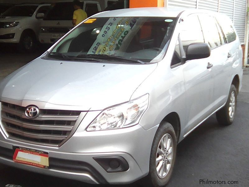 Used Toyota Toyota Innova E 2.5 manual diesel 2016 for sale in Manila