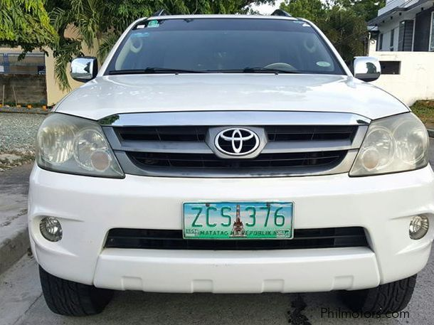 Used Toyota Fortuner G for sale in Manila